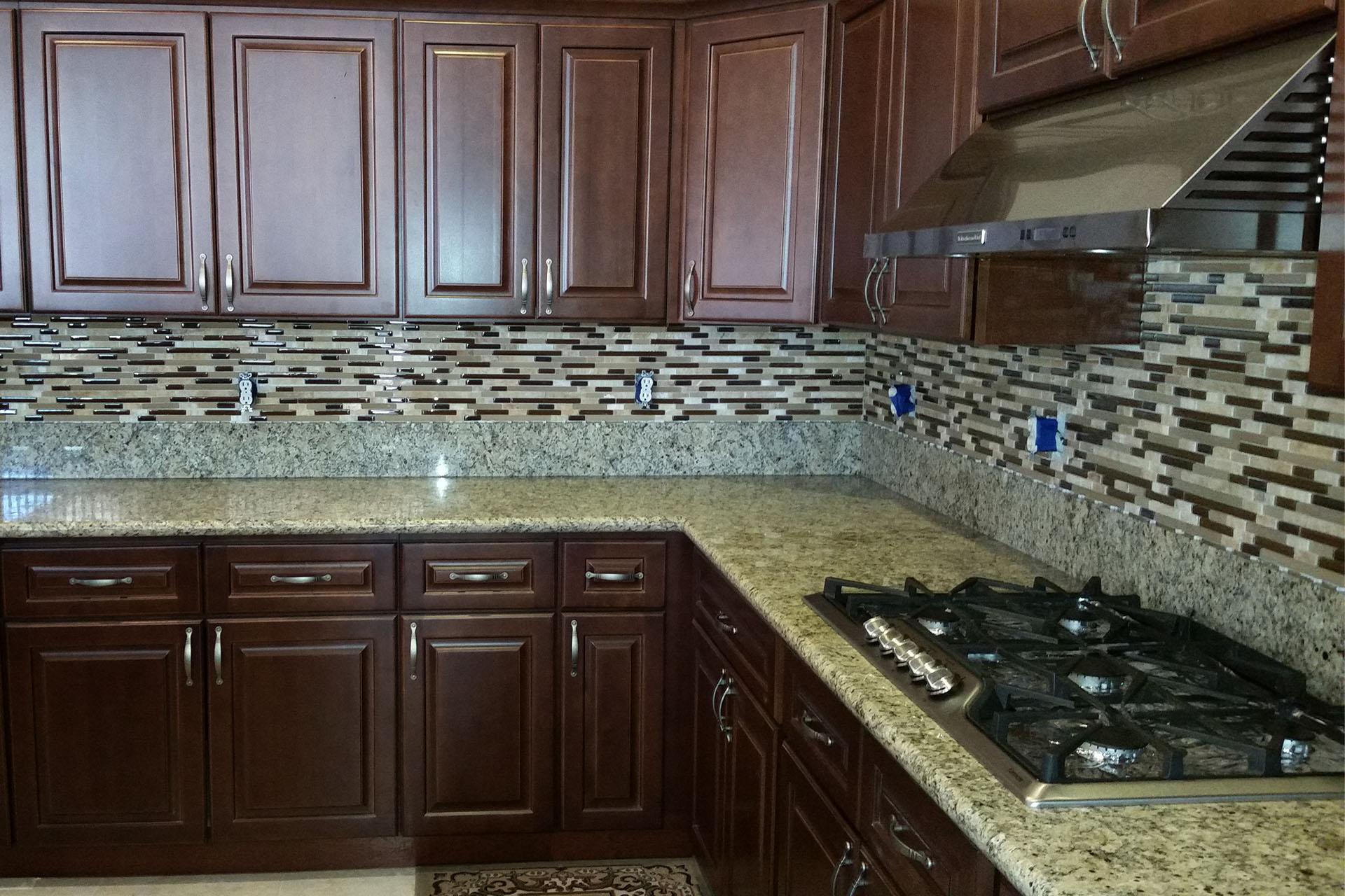 View Tile Backsplash Installation
