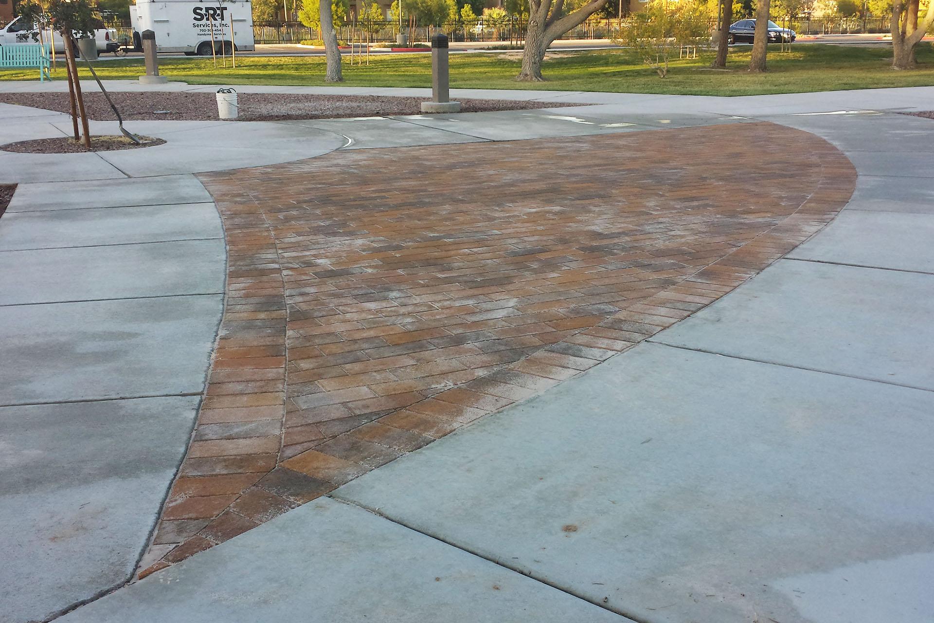 View Park Pavers Installation