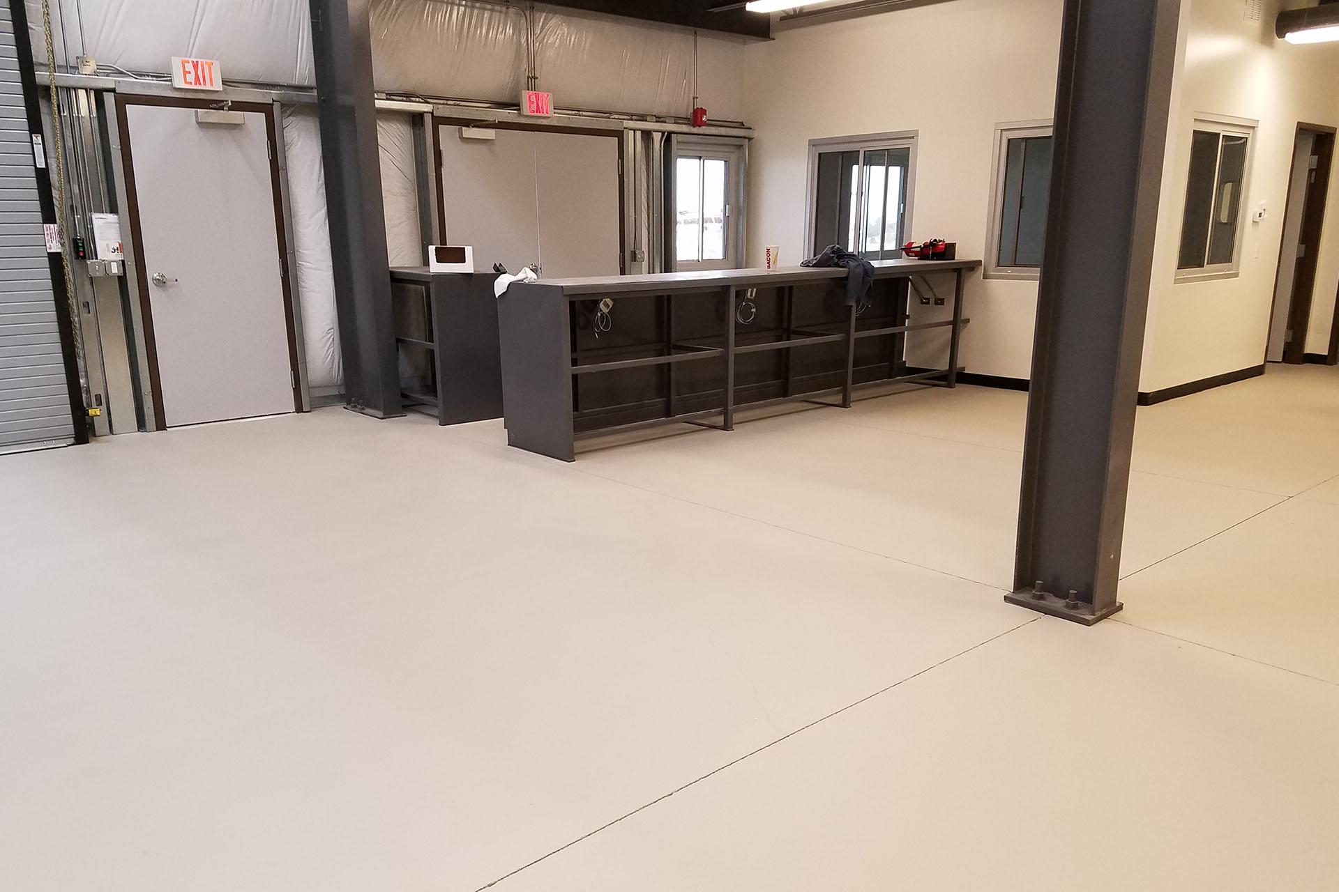 View Commercial Concrete Sealing Project