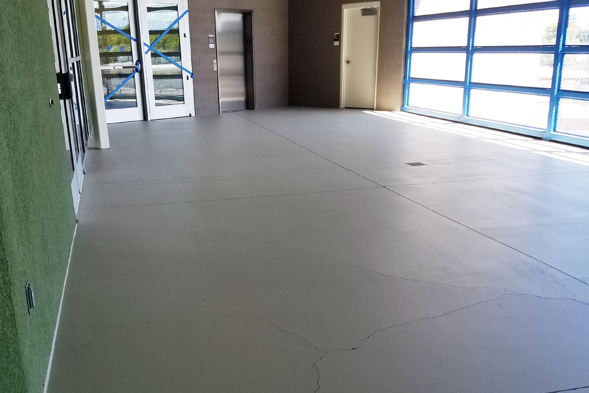 View School Anti-Slip Concrete Sealing Project