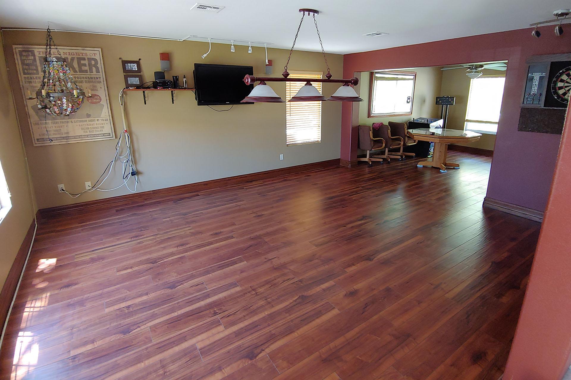 View Wood Laminate Floor Install
