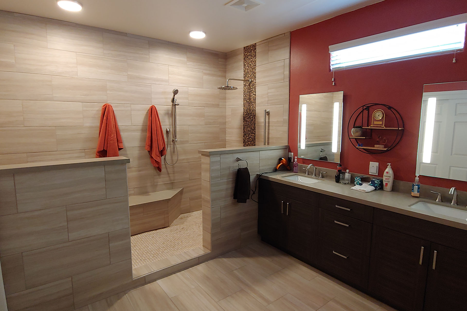 View Master Bathroom Renovation Project