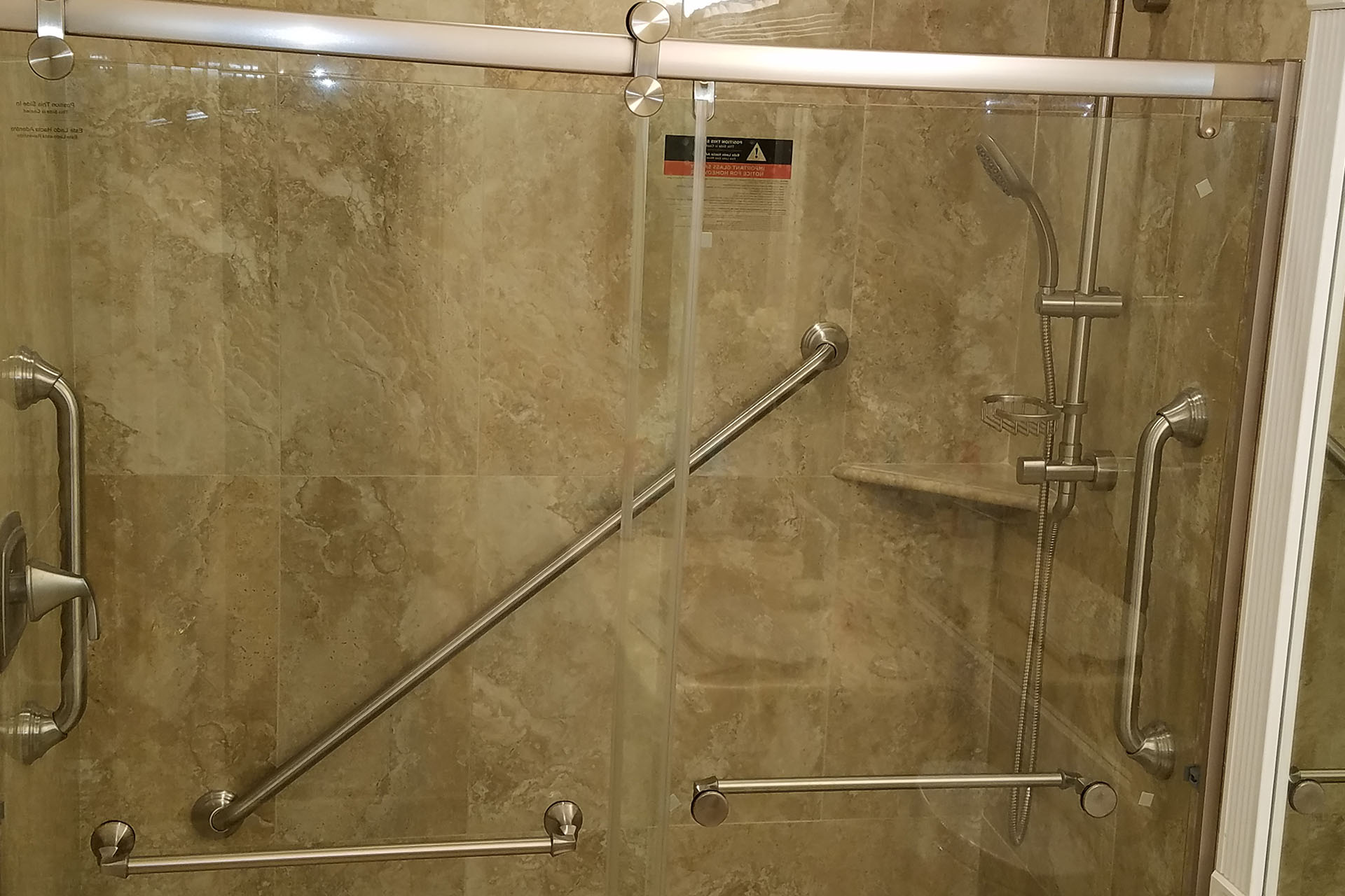 View Renovated Shower Project