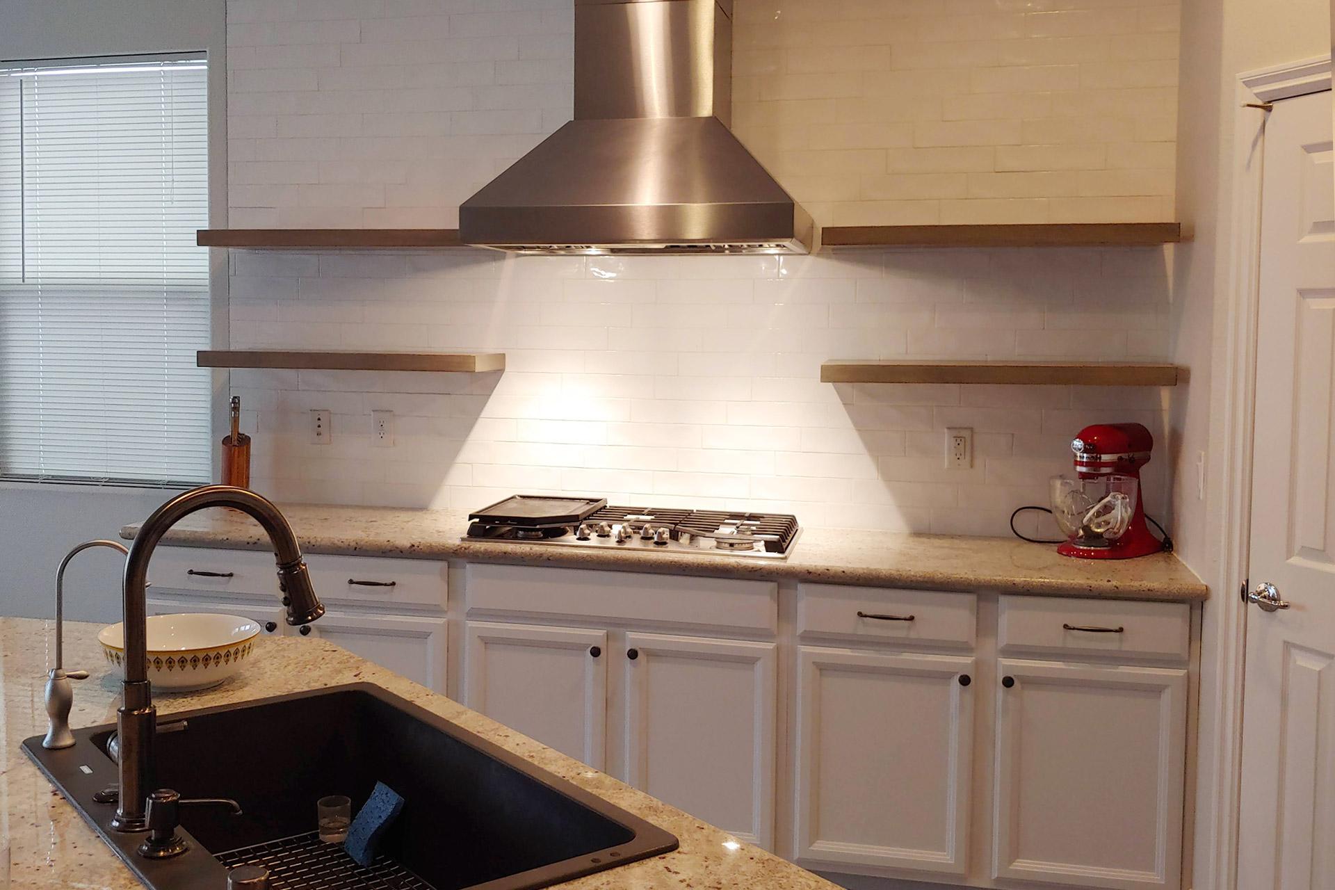 View Kitchen Wall Backsplash Installation