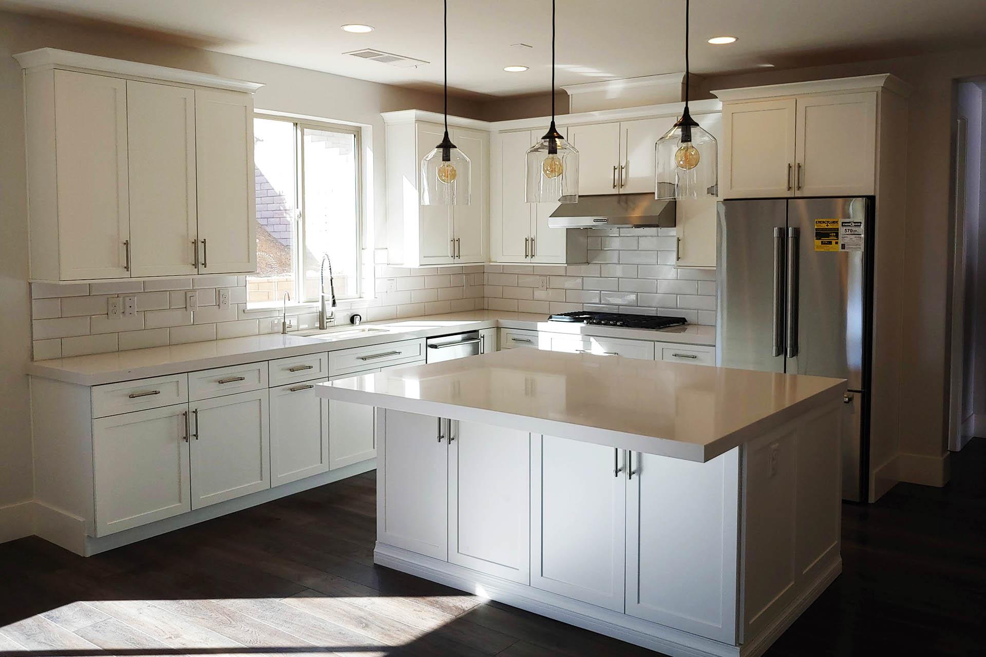 View White Kitchen Renovation