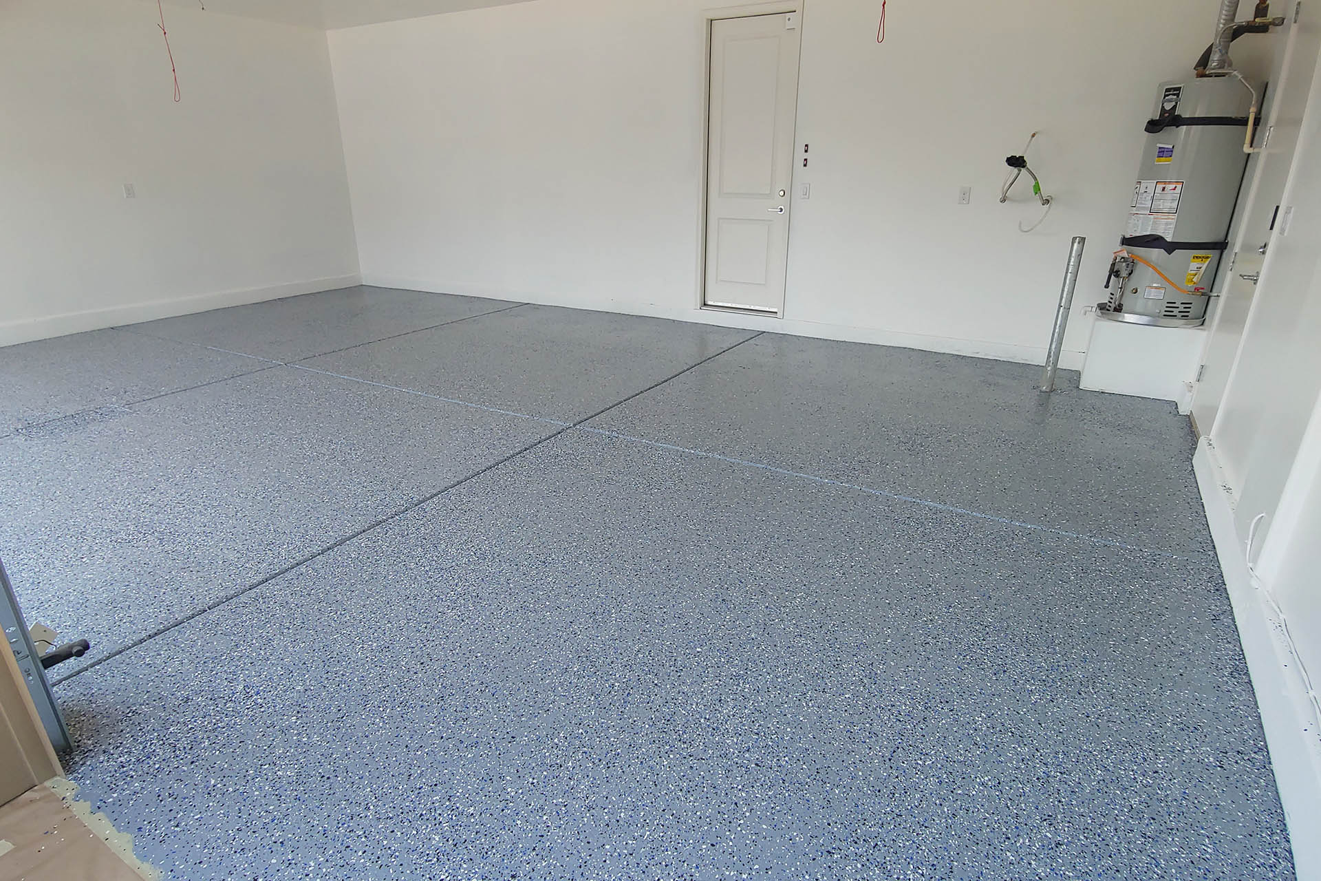 View Flaked Garage Epoxy Projects