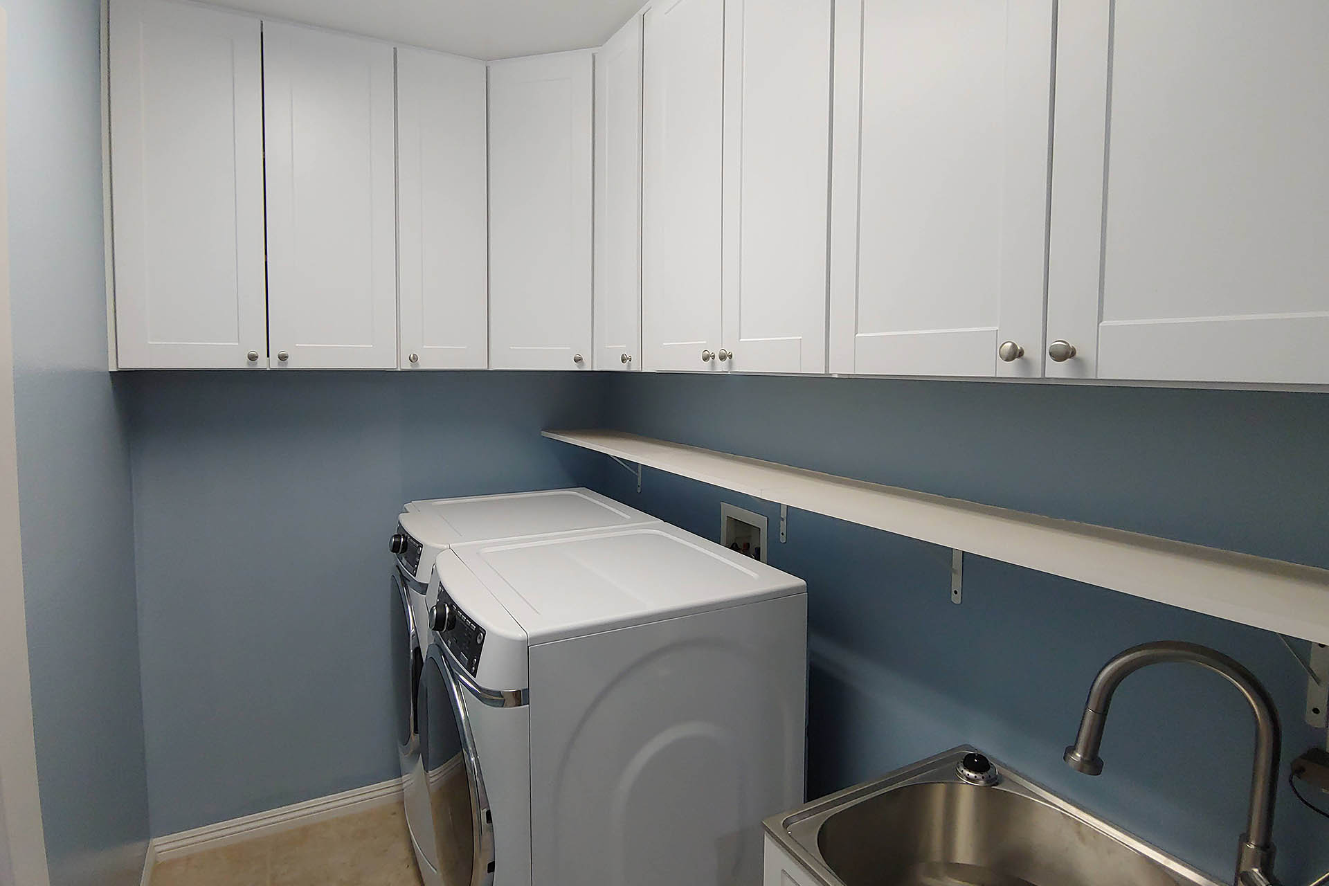 View Upper Cabinets & Shelving Installation