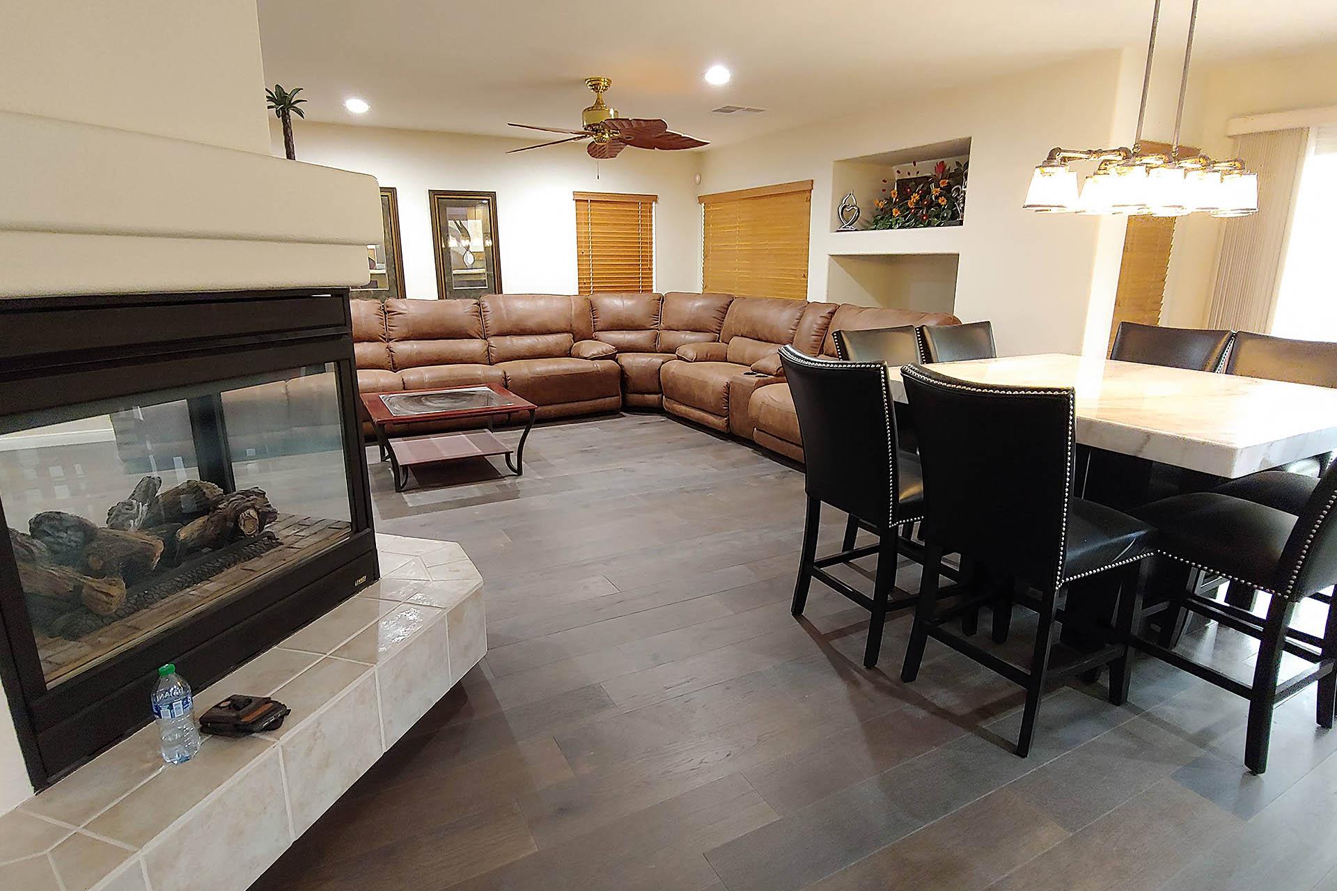 View Hardwood Floor Install