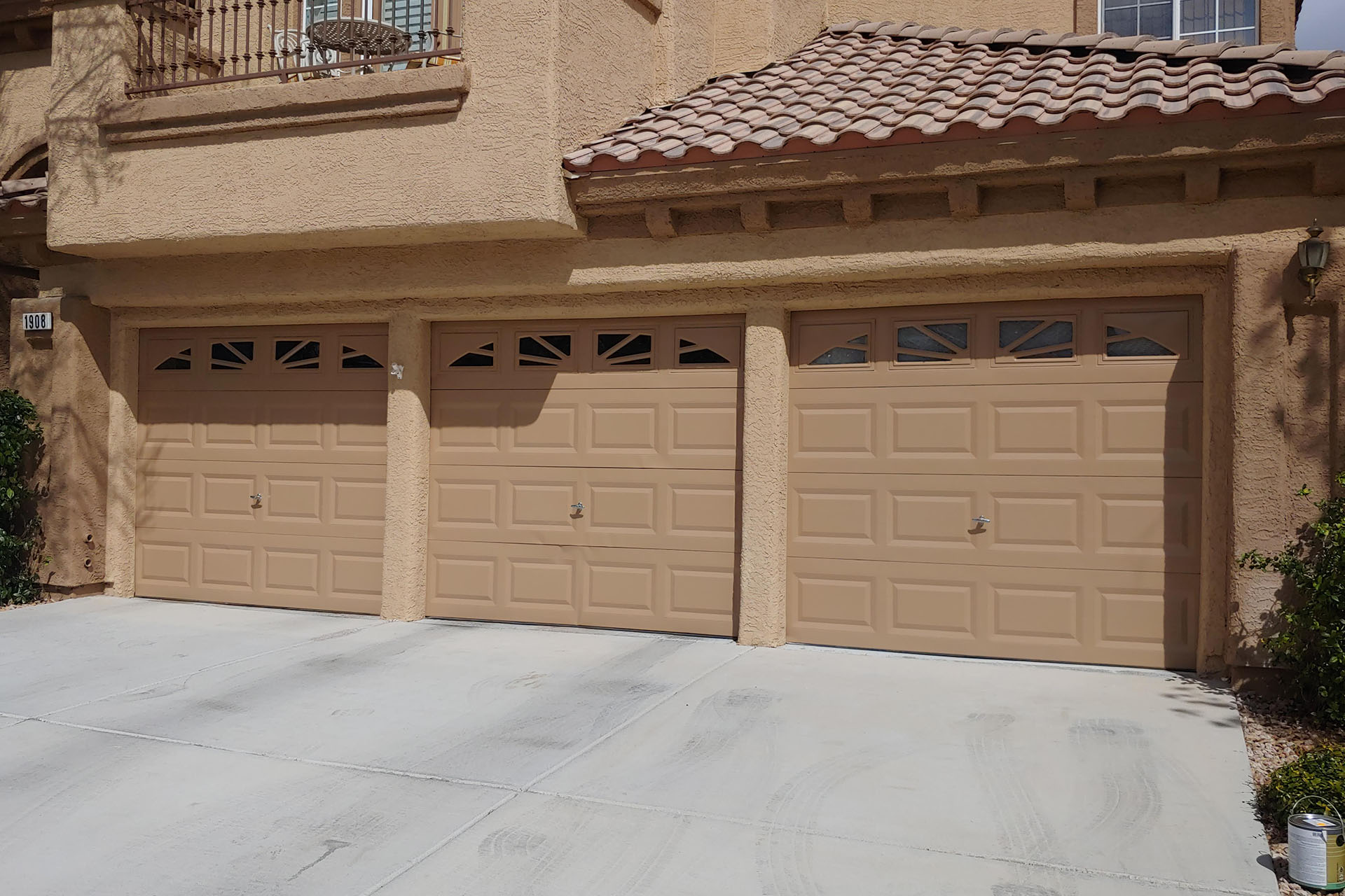 View Garage Door Painting Project