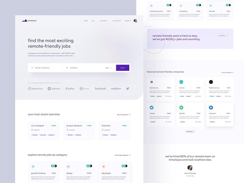 himalayas.app — home concept