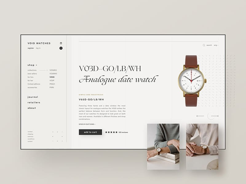 Void Watches e-commerce exploration