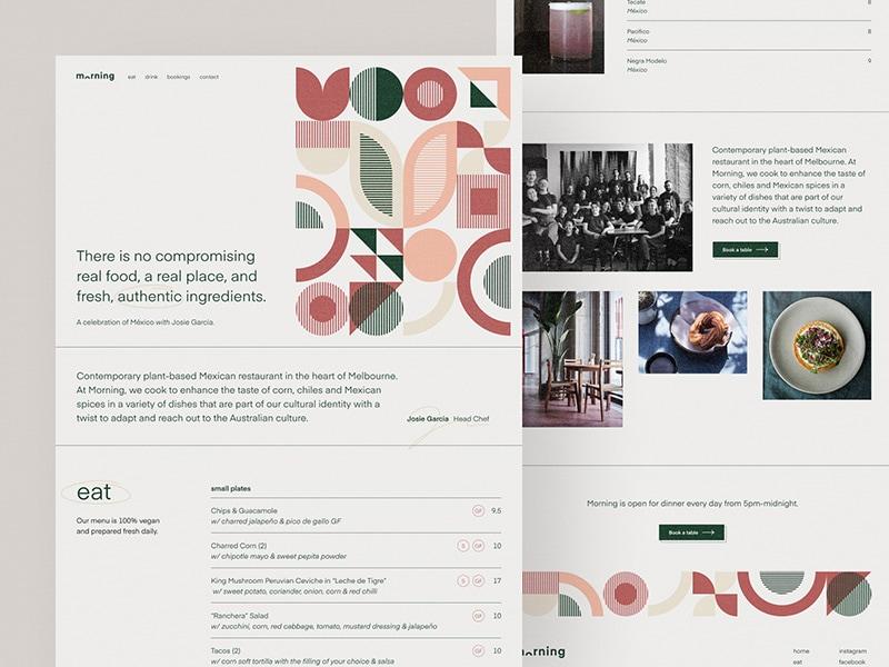 Morning restaurant concept — part 2