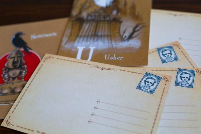 ABC of Poe - Postcards