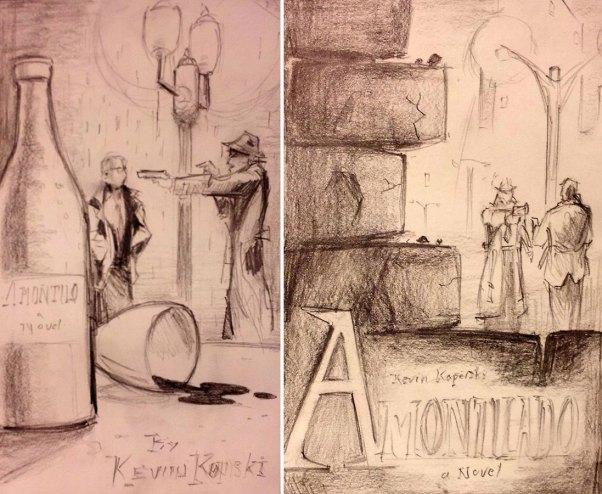 Mr. Gloor's original sketches