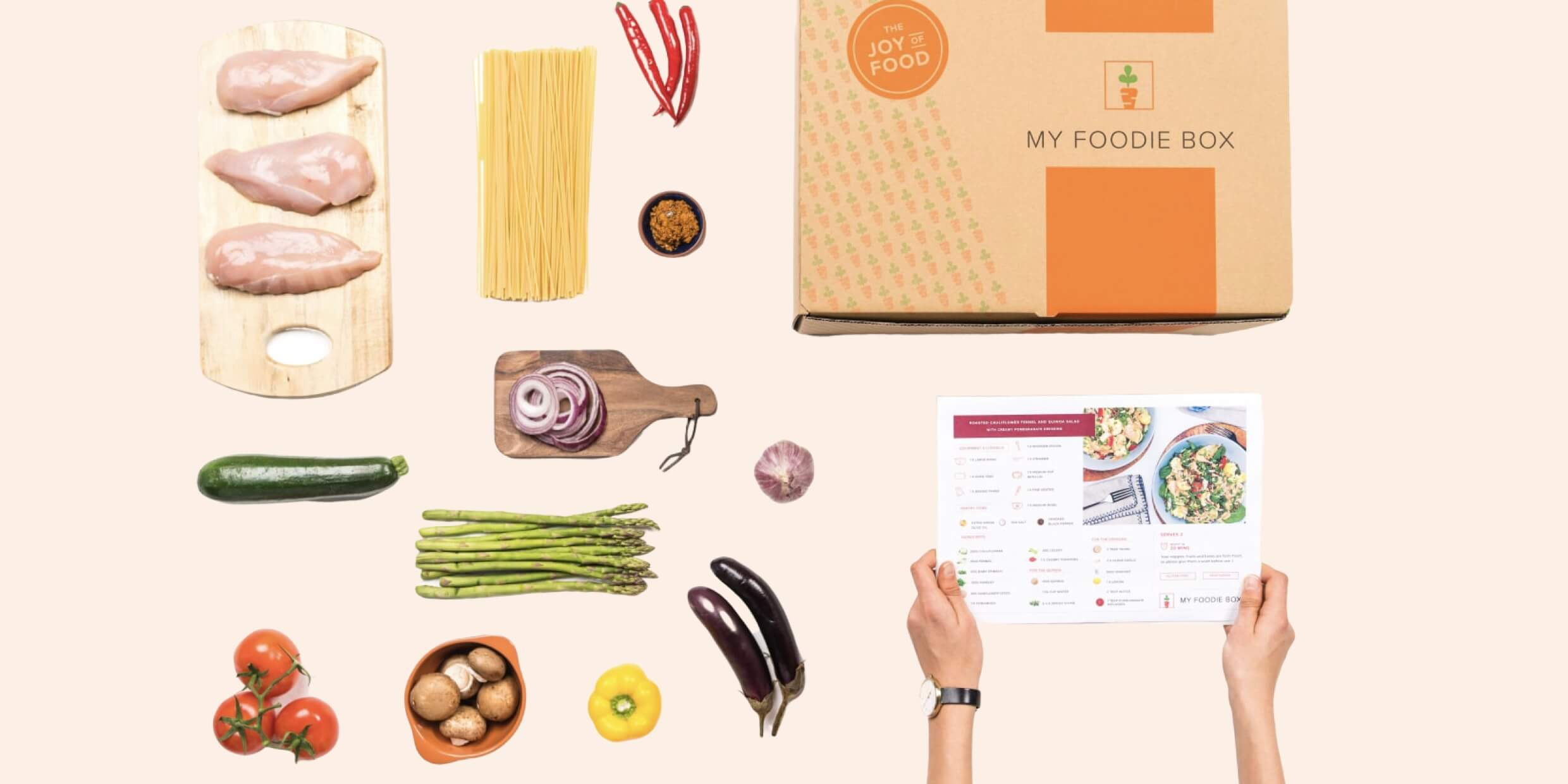 My Foodie Box: Meal Kits in WA