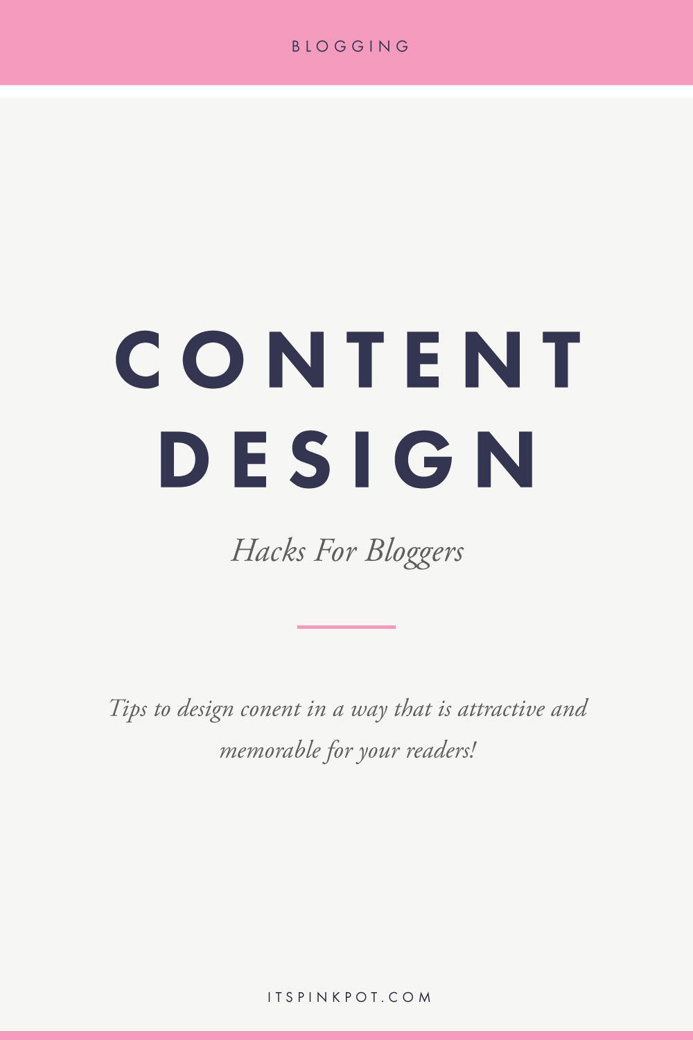 Designing your content in a way that is easily digestible and memorable for your readers is very important! Here are a few content design hacks to help you create great content!