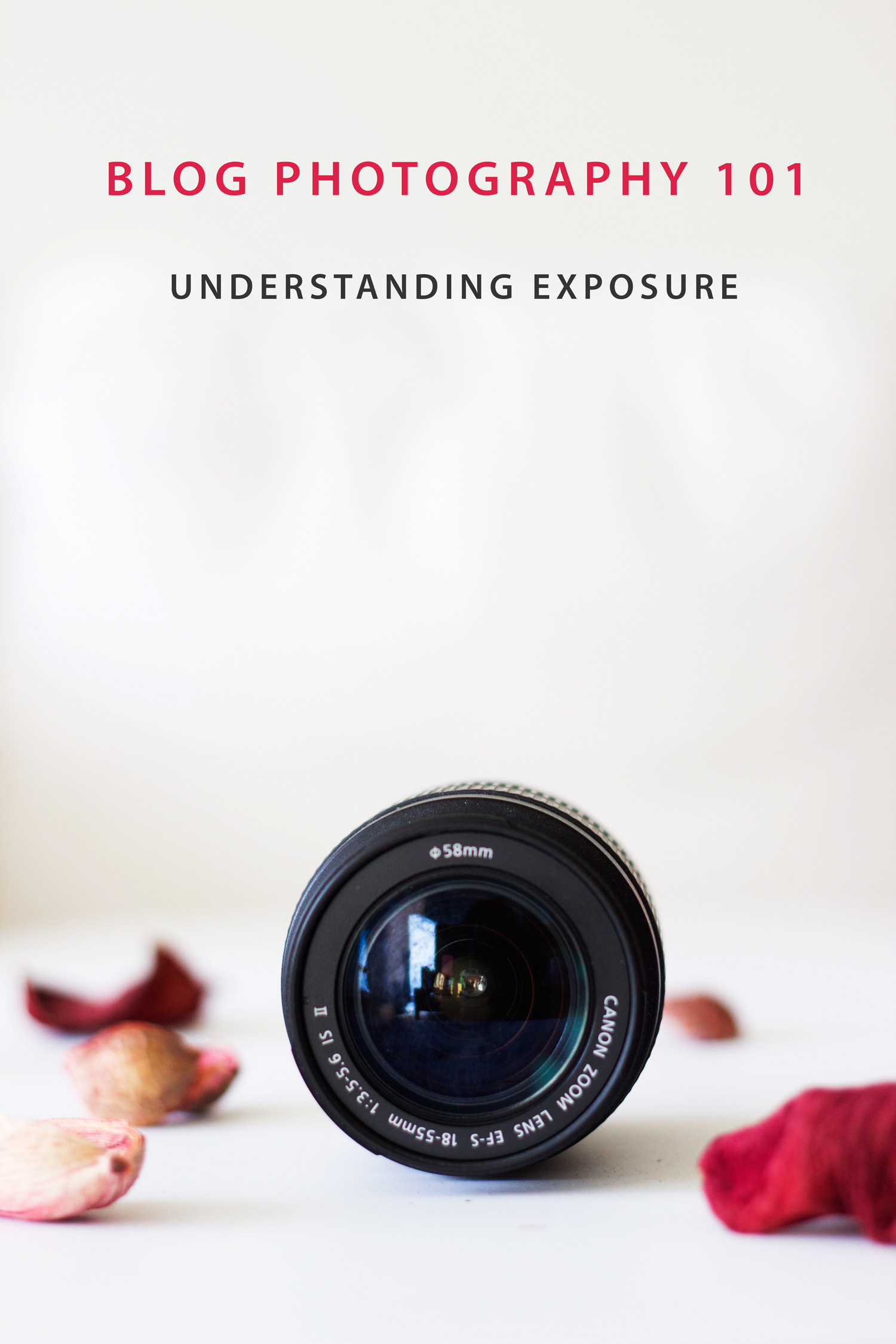 Want to take breath taking photographs for your blog? Its important to understand the basics first :) Dive deep into learning everything you need to know about Exposure in this post - Aperture, shutter speed and ISO!
