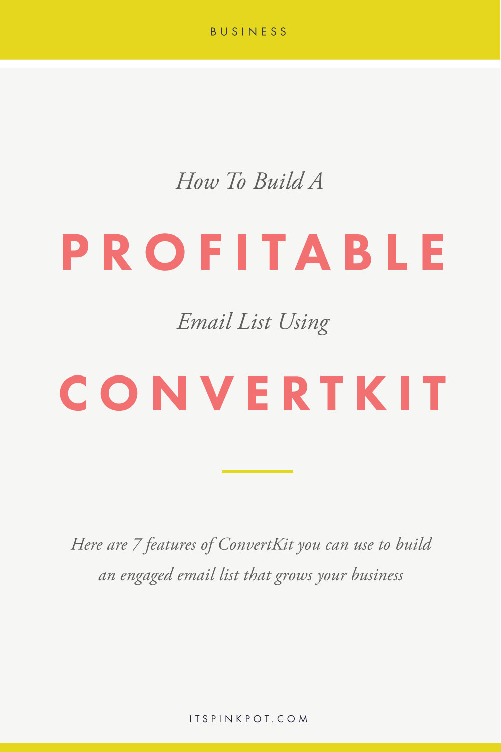 Well, there has been one magic tool aka ConvertKit that has helped me grow not just a huge email list but also an engaged email list with people who write back to my emails, read what I have to say and trust me enough to buy my products! Here are 7 ways you can use ConvertKit to build an engaged list of email subscribers and grow your business >>