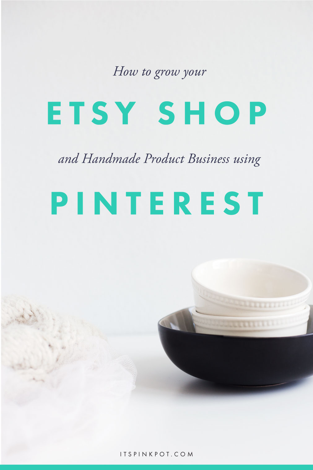 Pinterest is a great platform to grow your Etsy/handmade shop. Pinterest has helped me attract traffic, build a loyal audience, gain clients & customers like no other platform. My Pinterest following increased from over 3k to 17k in under 12 months. If for some reason, Pinterest is chugging along slowly for you - don't worry! Click here to read my tips on how you can use Pinterest to grow your handmade business >>