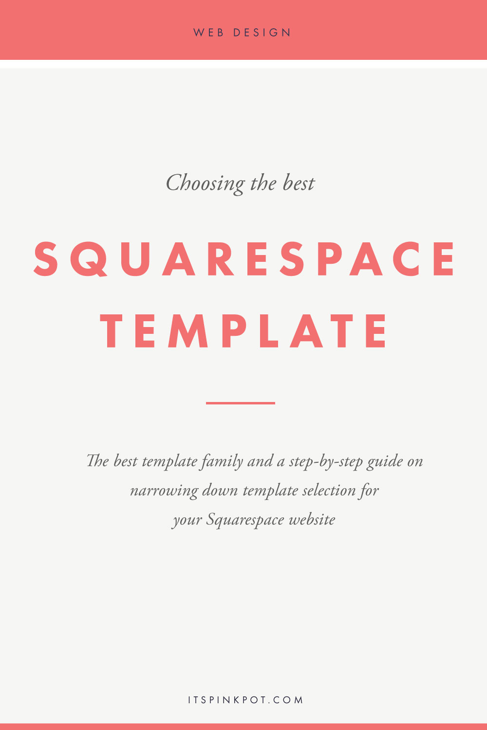 As soon as you sign up for Squarespace, the first decision you gotta make is 'Which template should you use for your website'? One look at the template page on Squrespace and you 'll want to go hide. It has over 24 template families (a lot more templates in each family!) with new ones being added to the collection. So how do you choose which one's best for you? Here's the best Squarespace template family and a guide on how to narrow down on the template selection for your website >>