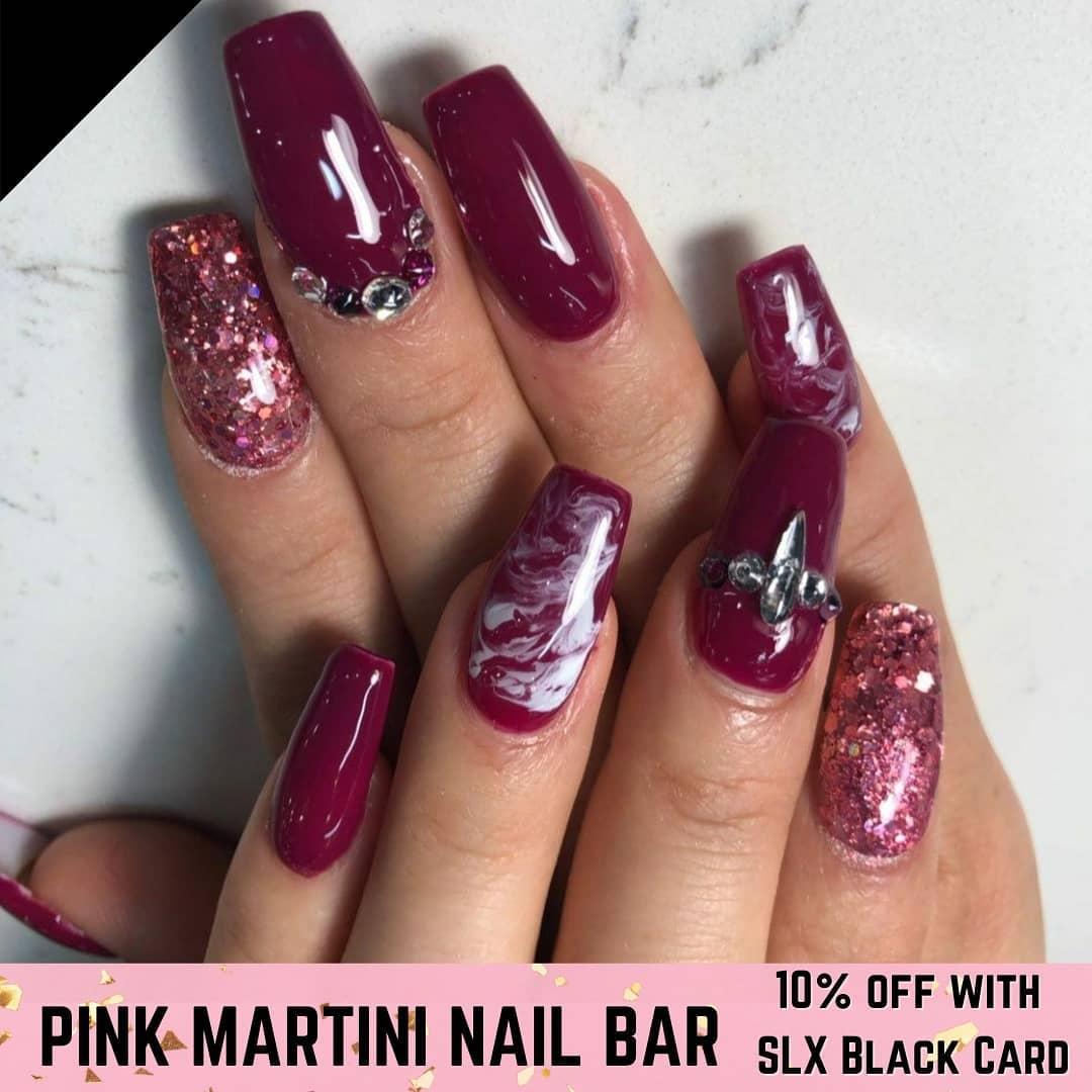Pink Martini Nail Bar