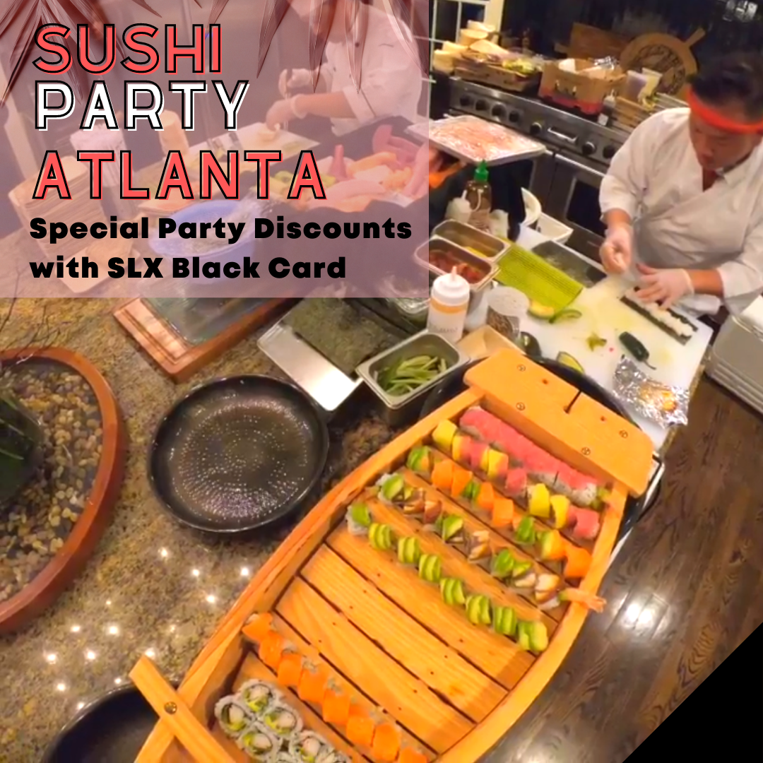 Sushi Party Atlanta