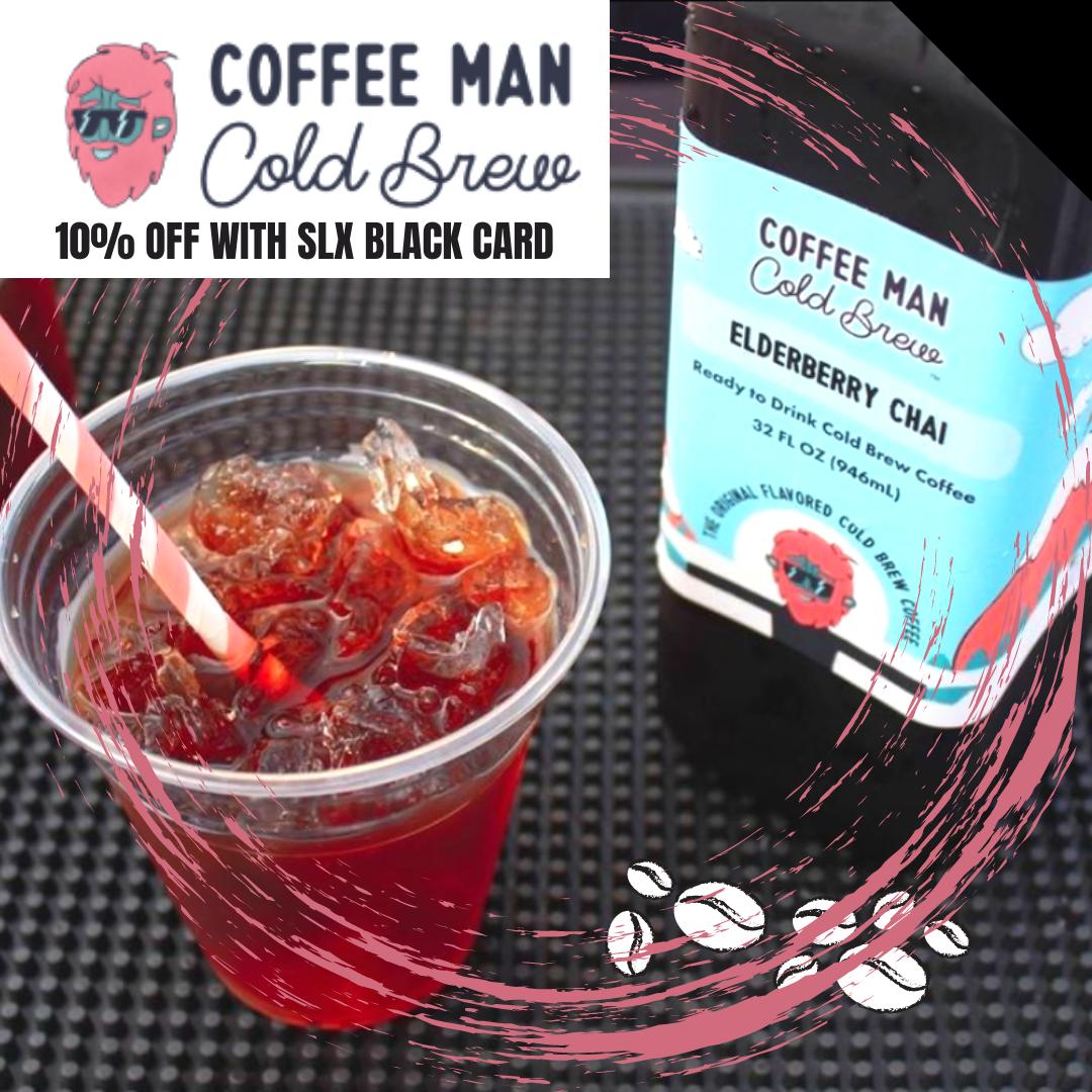 Coffee Man Cold Brew