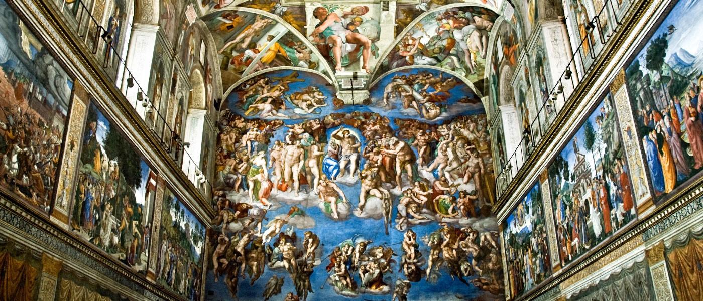 Sistine Chapel ceiling paintings