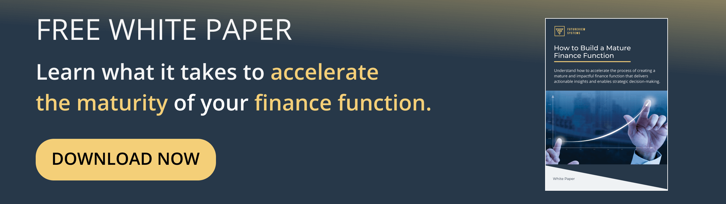 Overcome Excel problems and build a mature finance function with FutureView.