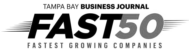 Tampa Bay Business Journal Fast 50 Fastest Growing Companies Logo