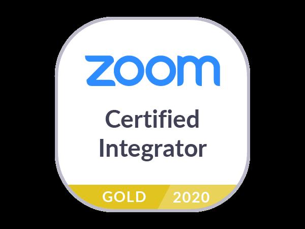 Zoom Gold Partner Logo
