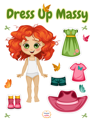 """Dressing Game """"Massy"""" - Moments With Massy"""