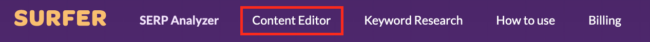 Content Editor in navigation