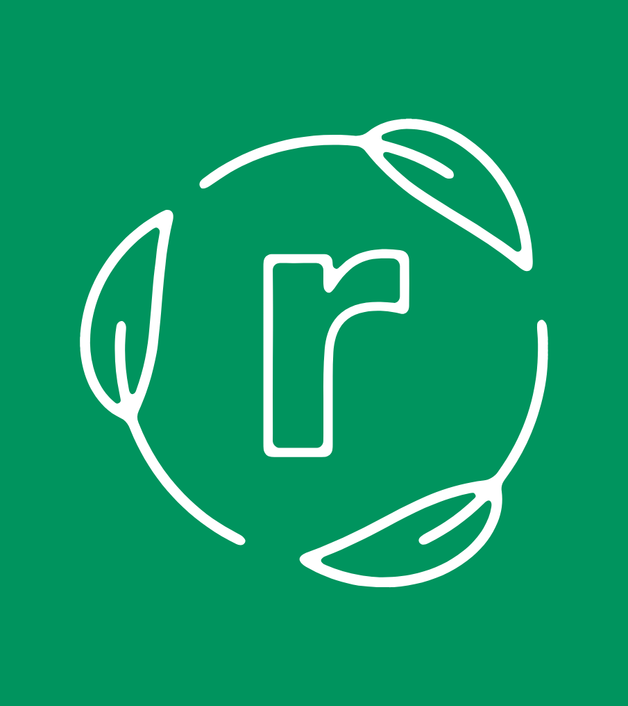 Freshr symbol - big R with leaf