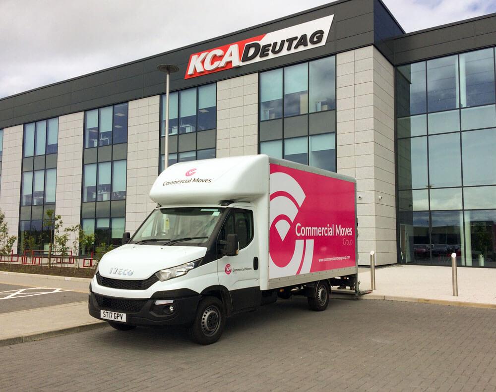 commercial moves van kca