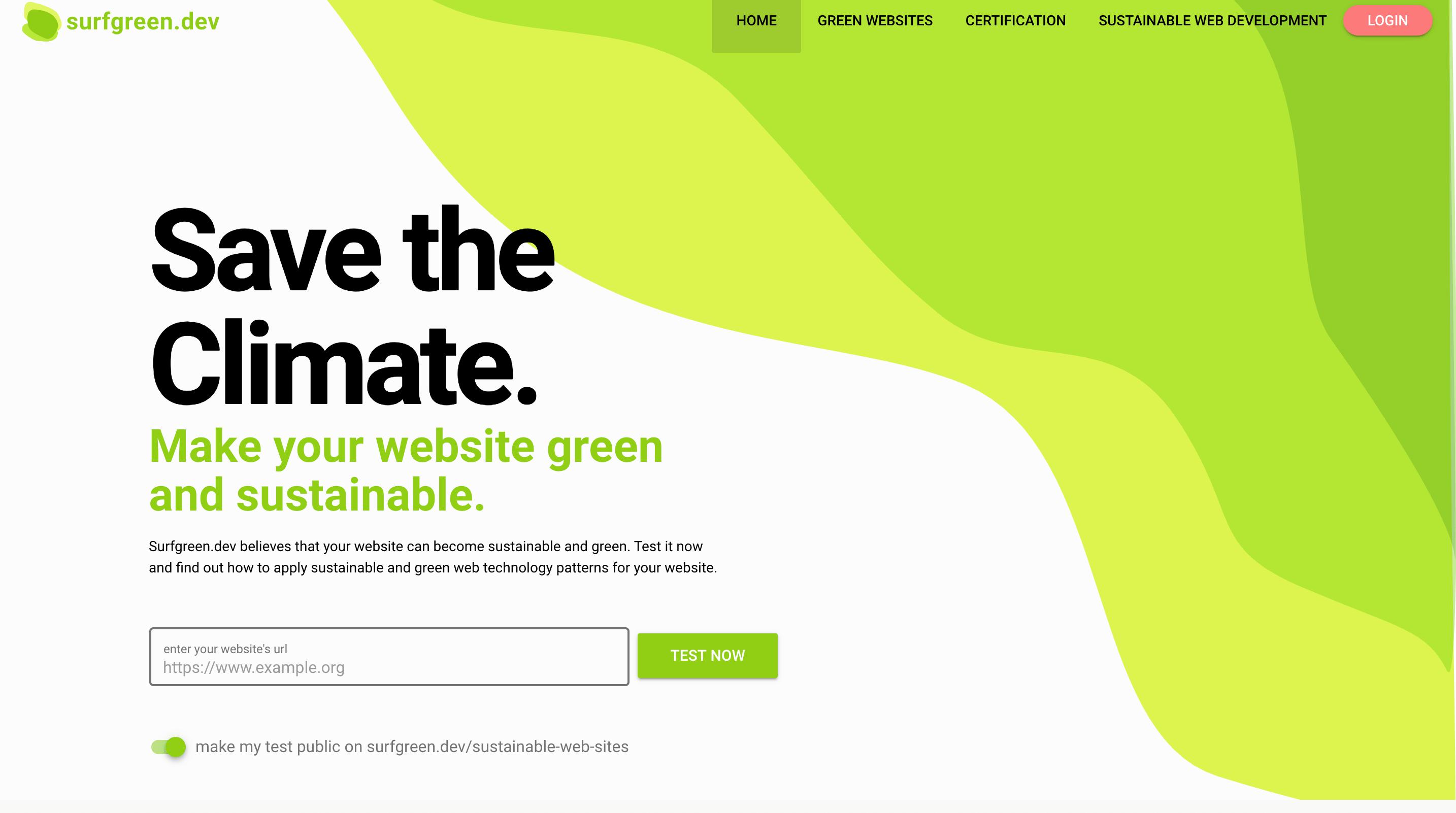Nachhaltige Webentwicklung und gruenes Webdesign