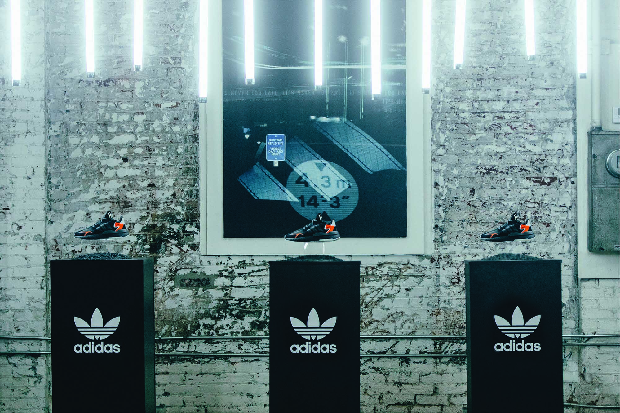 Adidas private event in honeypot