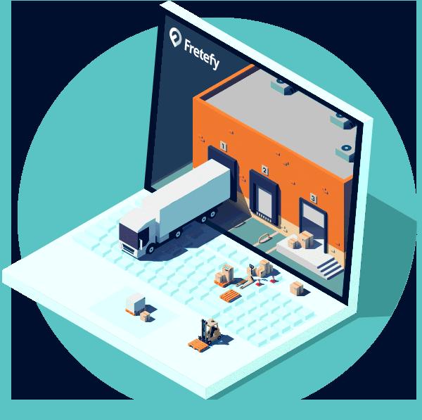 Fretefy - 40% mais produtividade - Software de logística