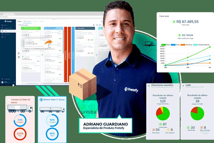 Software de logística para Embarcadores, indústrias, distribuidoras, atacadistas e varejistas