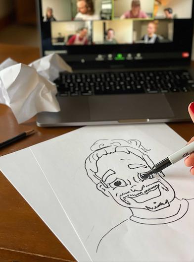 Matt's Caricature Sketch