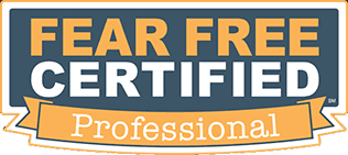 The Cat's Meow Staff are Fear Free Certified Professionals