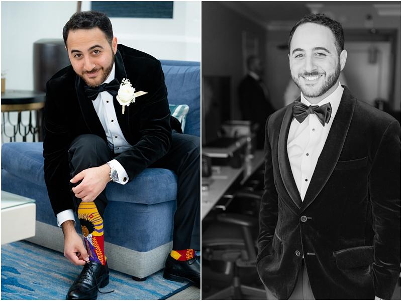 grooms funny socks