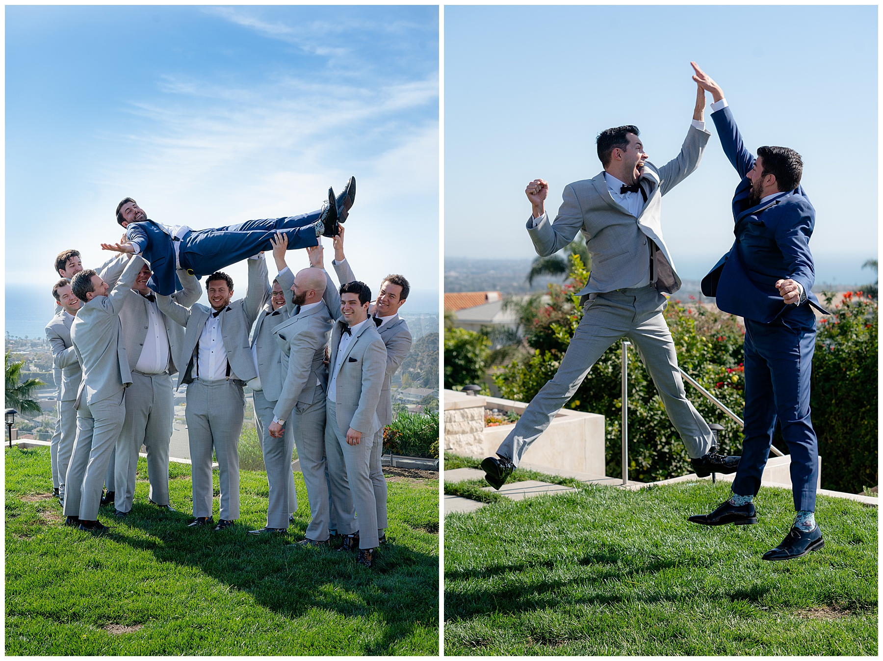 funny groomsmen group photo