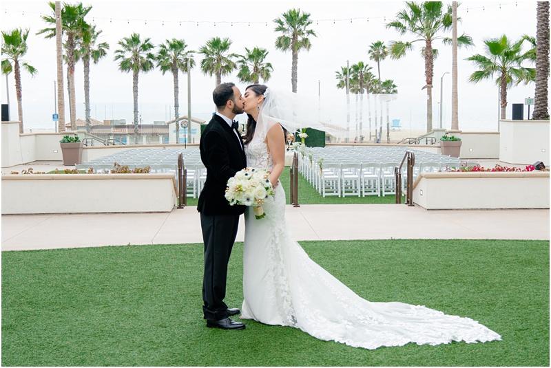 waterfront beach resort huntington beach wedding