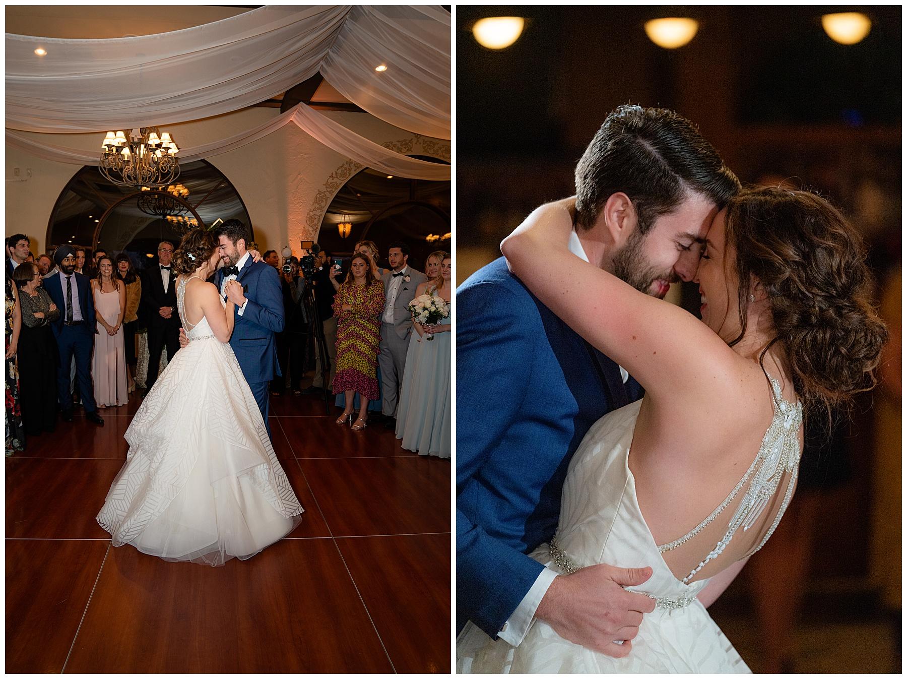 talega golf club weddings first dance