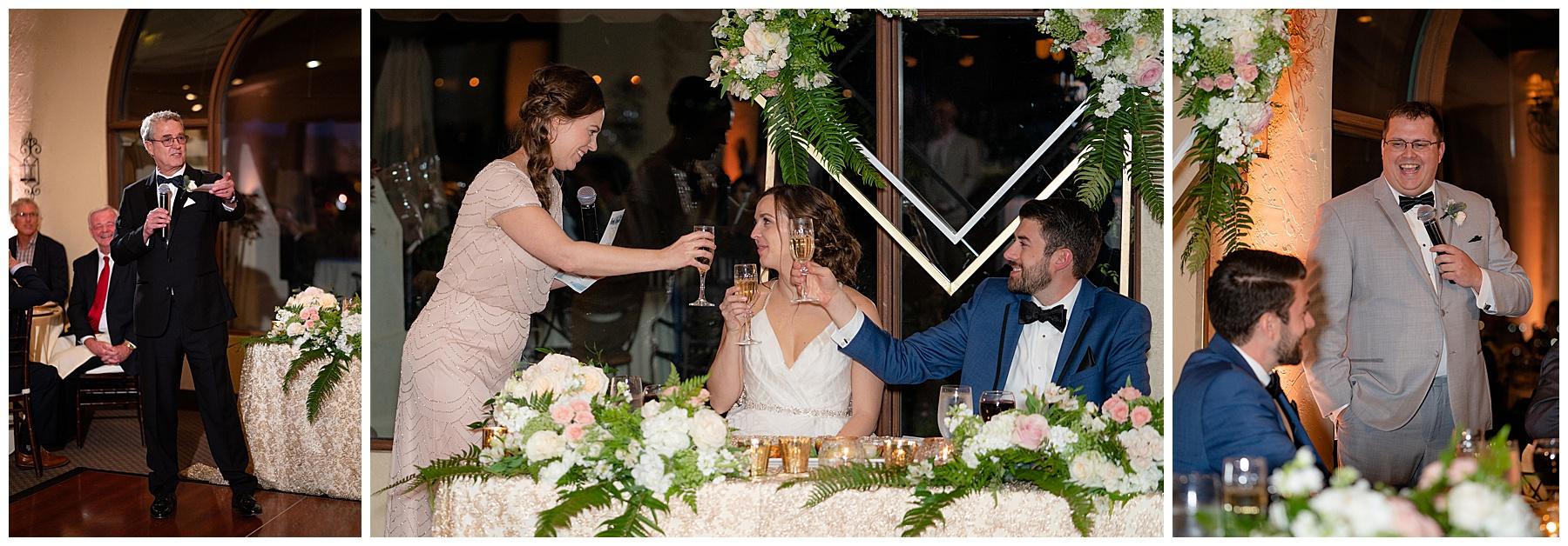 talega golf club weddings toasts