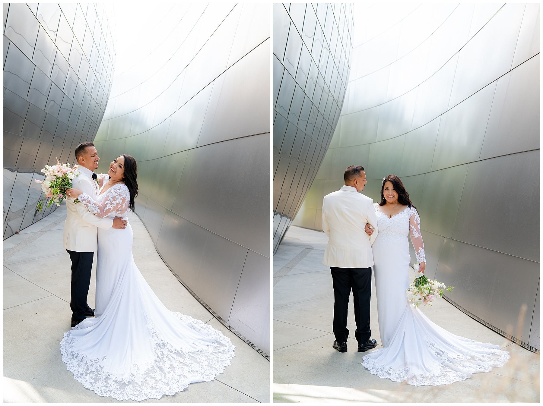 walt disney concert hall wedding