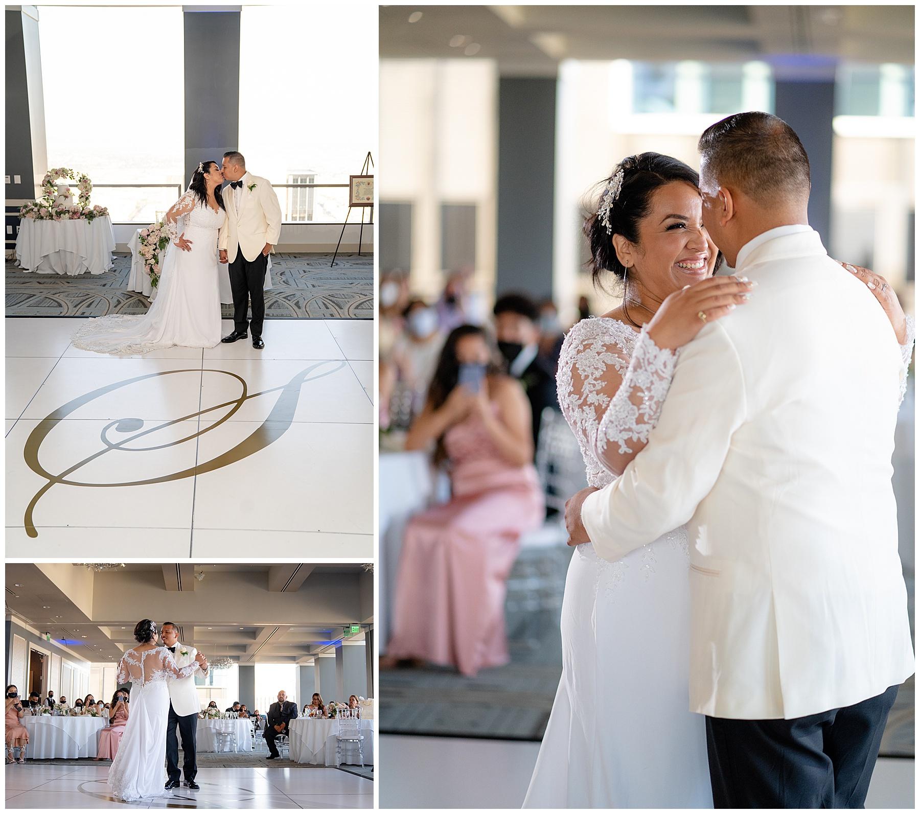 city club la wedding first dance