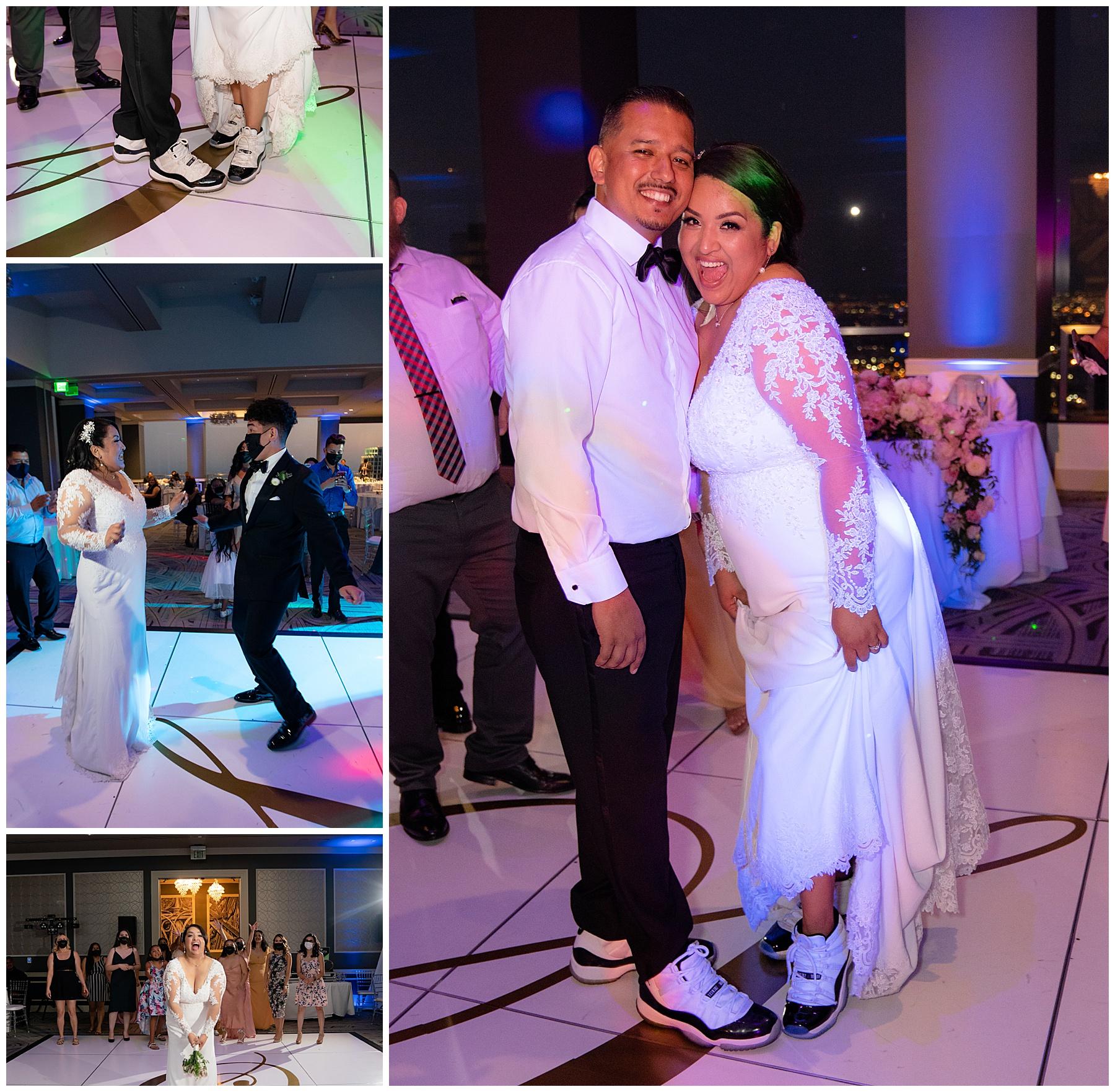 city club la wedding dancing