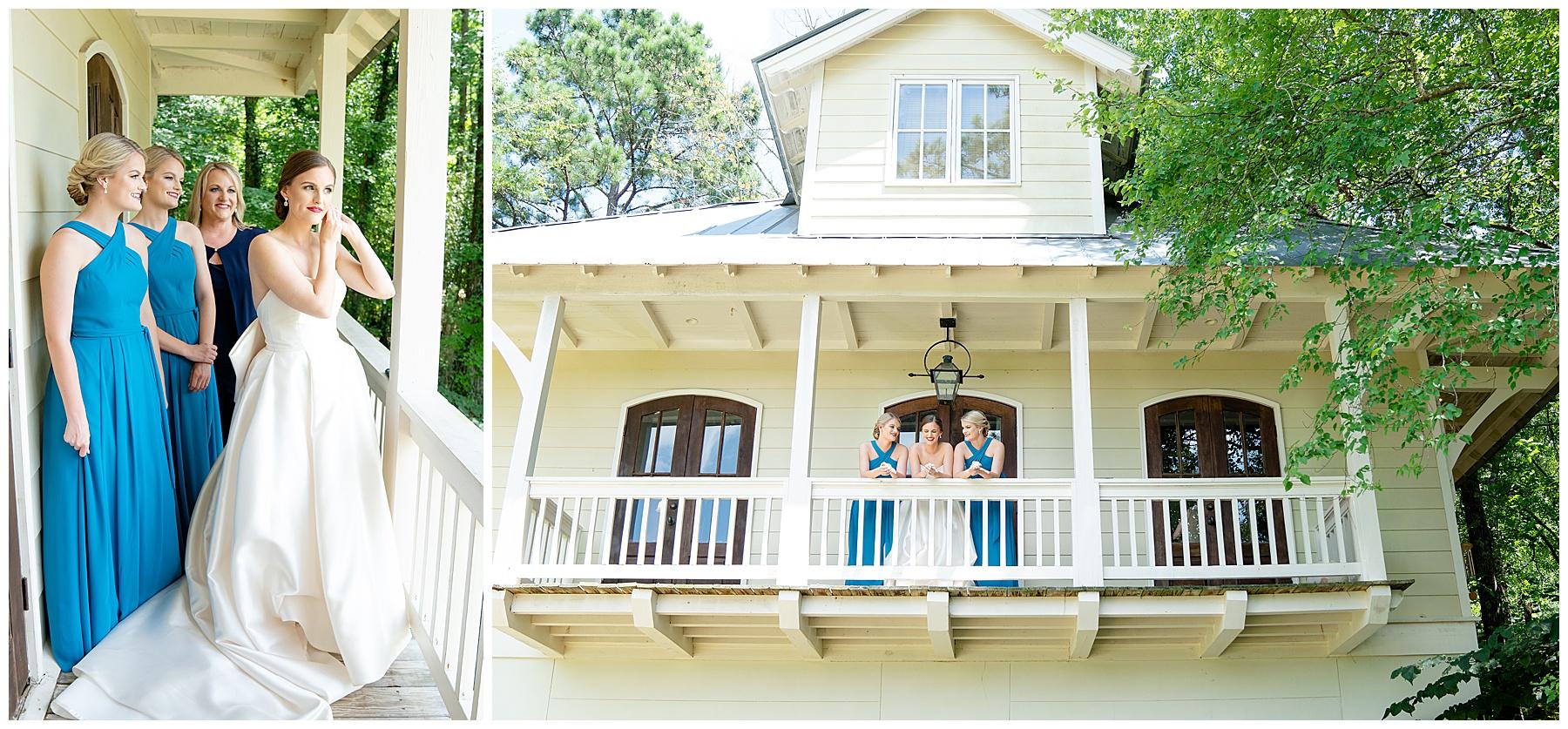 alabama wedding porch photo